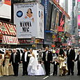 Wedding on Times Square