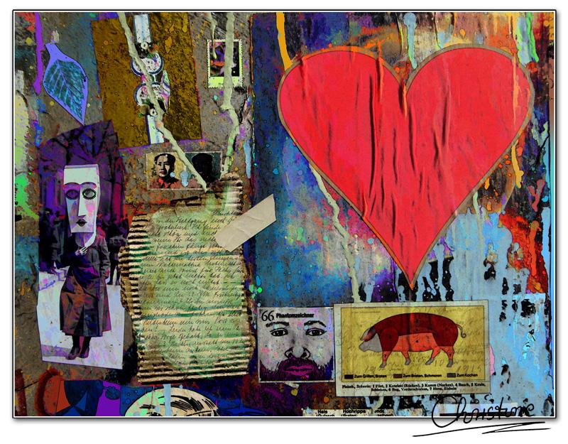 Loveletter on Grafitti Wall