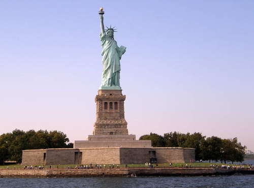 Liberty Island/Miss Liberty